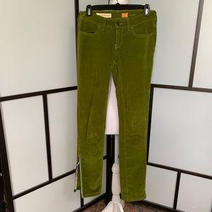 Anthropologie Pants - Pilcro & The Letterpress Green Corduroy Stet Pants